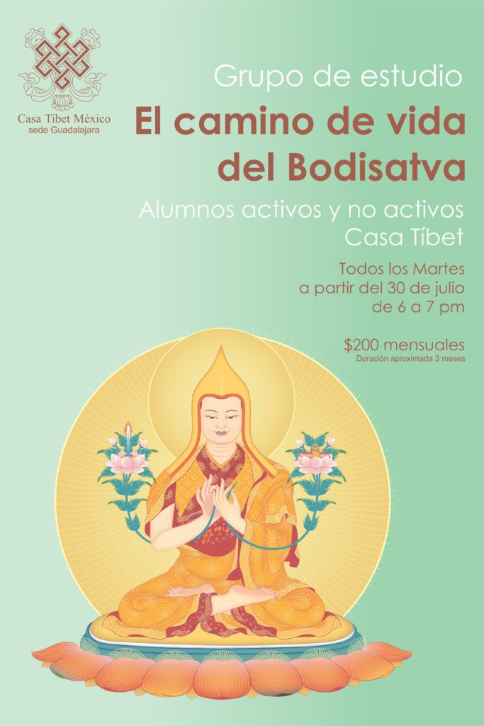 Grupo de estudio: El Camino de vida del Bodisatva.