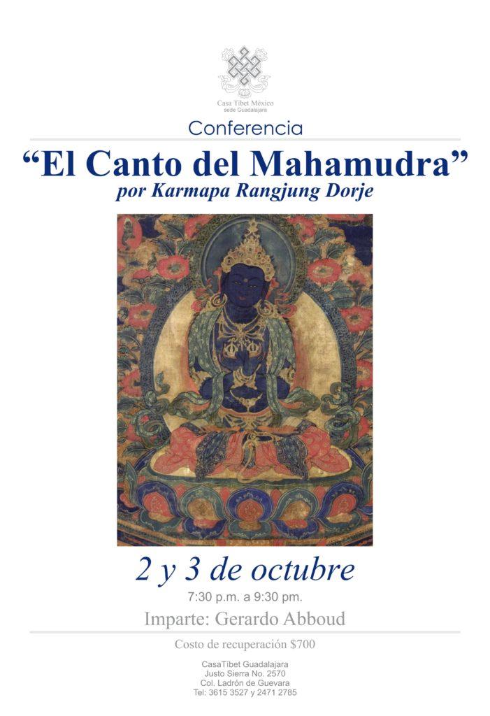 """Conferencia impartida por Gerardo Abud: """"El Canto del Mahamudra""""."""